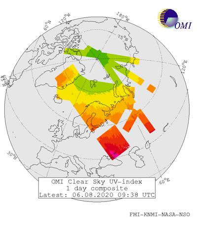 cf7a04466ba1 Today's UV Index ...